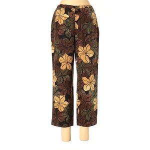 TOMMY BAHAMA Silk Tropical Loungewear Pants 10